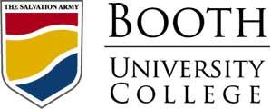 کالج دانشگاه بوث کانادا -Booth University College