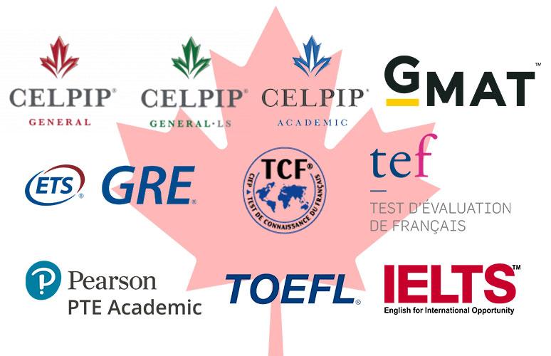 آزمون های زبان مورد تایید کانادا