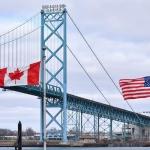 احتمال دارد مرز زمینی کانادا با آمریکا