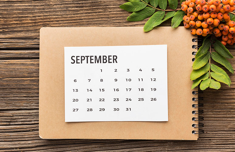 هفته سوم سپتامبر