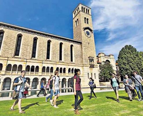 رتبه بندی دانشگاه های استرالیا - دانشگاه های استرالیا برای اپلای